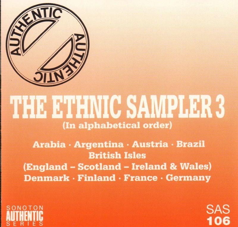 Sonoton-CD-Album-The-Ethnic-Sampler-3-SAS-106-1995