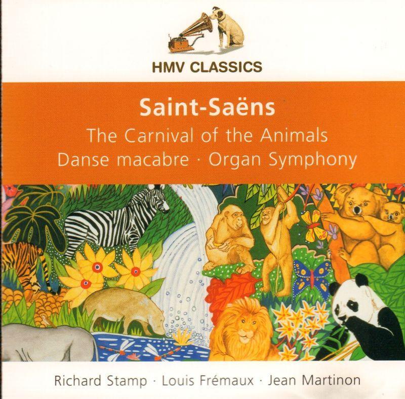 Details about Saint-Saens(CD Album)The Carnival Of Animals  Stamp/Fremaux-HMV-HMV 5 86-New