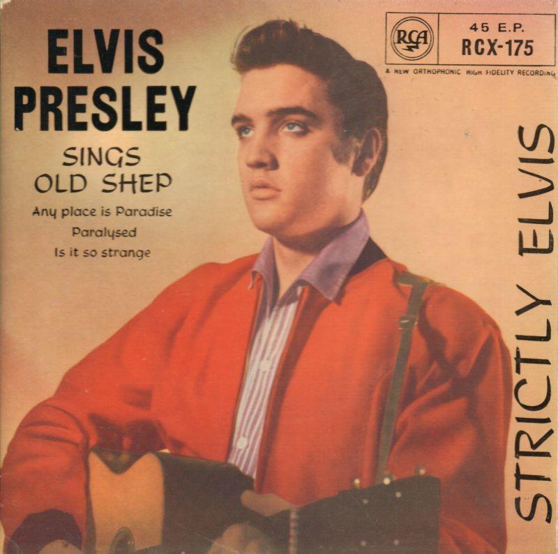 Elvis Presley 2nd State 7 Quot Vinyl P S Sings Old Shep Ep Rca