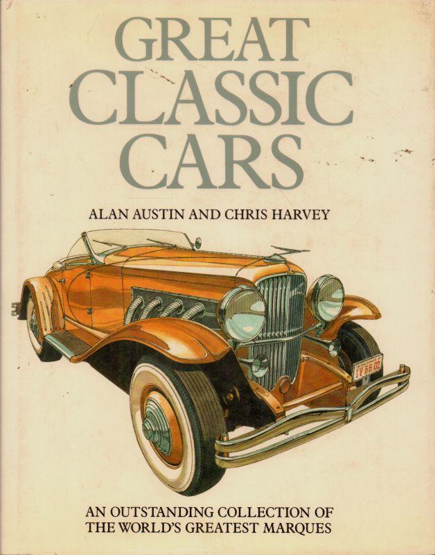 Great Classic Cars(Book)Alan Austin And Chris Harvey-Good   eBay