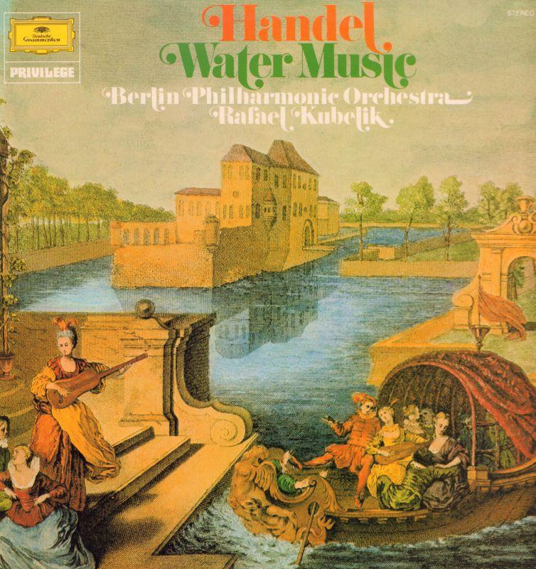 Handel(Vinyl LP)Water Music-Deutsche Grammophon-2535 137-UK-Ex/VG+ ...