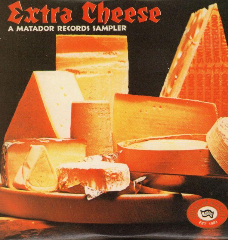 Various-Rock-Promo-CD-Album-Extra-Cheese-Matador-1995